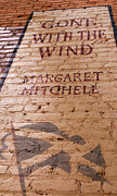 Childrens Literature Prints - Gone With The Wind - Urban Book Store Sign Print by Steven Milner