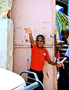 Haitian Photos - Good-bye by Steven Baier