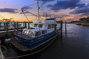Park Dock Prints - Good Fishing Print by Debra and Dave Vanderlaan