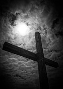 Dark Skies Metal Prints - Good Friday Metal Print by Caitlyn  Grasso