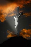 Religious Prints Photo Metal Prints - Good Friday Metal Print by Tom York