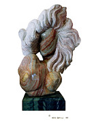 Flowing Sculpture Prints - Good Hair Day Print by Herb Conrad