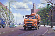 Bridge Painting Originals - Good mixer by Mike  Jeffries