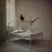 Floating Girl Prints - Good morning Print by Anka Zhuravleva
