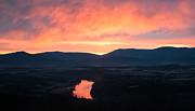 Good Morning Blue Ridge Print by Lara Ellis