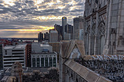 Abandoned Buildings Prints - Good Morning Detroit 1 Print by Bryan Levy