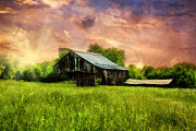 Farming Barns Prints - Good Morning Kentucky Print by Darren Fisher