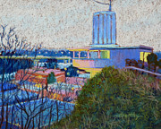Municipal Painting Prints - Good Morning Oregon City Print by Dorothy Jenson