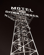 Motel Metal Prints - Good Motel When Youre Completely Knackered Metal Print by Royce Howland