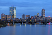 Skyscraper Photographs Photos - Good Night Boston by Juergen Roth