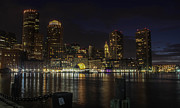 Boston Ma Prints - Good Night Boston Print by Patti Colston