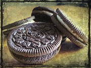 Sandwich Digital Art - Good old Oreos by Barbara Orenya