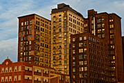 Urban Buildings Prints - Good Times Print by Robert Harmon