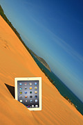 Suradej Prints - Goodbye Ipad Print by Suradej Chuephanich