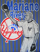 Mariano Rivera Prints - Goodbye Mariano Print by Gary Niles