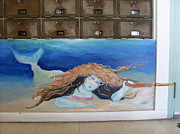 Under The Ocean Prints - Goodland Mermaid Print by Patrice Clark