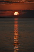 Sunsets Photos - Goodnight Sun by Jan Amiss Photography