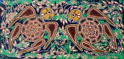Aboriginal Art Paintings - Goolil Yapas by Darlene Devery
