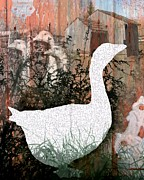 Sharon Marcella Marston - Goose Collage