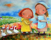 Monica Blatton - Goose Girls