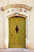 France Doors Framed Prints - Gordes Door Framed Print by Brian Jannsen