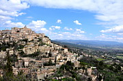 Gordes France Print by Ambika Jhunjhunwala