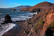Cliffs Photos - Gorgeous Sonoma Coast by Garry Gay