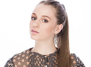 Hair Jewelry Originals - Gorgeous Young Girl With Earrings by Anastasia Yadovina