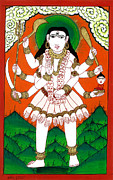 Hindu Goddess Originals - Gori Maa by Ashok Kumar