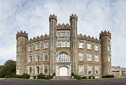 Brick Building Prints - Gormanston Castle Print by Semmick Photo