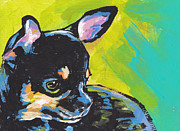 Chihuahua Colorful Art Prints - Got Chi? Print by Lea