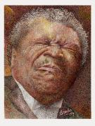 B.b.king Paintings - Got my Mojo working by Breyhs