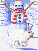 Seasonal Art - Got Your Nose by Catherine G McElroy