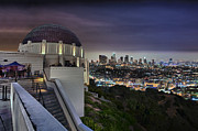 Telescope Domes Framed Prints - Gotham Griffith Observatory Framed Print by Scott Campbell