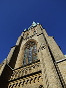 Oratory Photos - Gothenburg church 03 by Antony McAulay