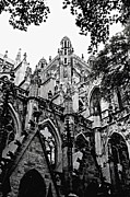 Gothic Cathedral Framed Prints - Gothic Cathedral of Den Bosch Framed Print by Carol Groenen