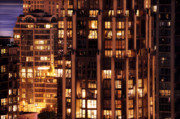Night Scenes Photo Originals - Gothic Living - Yaletown CCCLXXX by Amyn Nasser