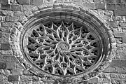 Catherine Window Prints - Gothic Rosette Print by Jose Elias - Sofia Pereira