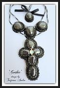 Cross Necklace Jewelry Originals - Gothic by Tatjana Andre