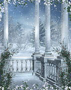 Gothic Winter Print by Boon Mee