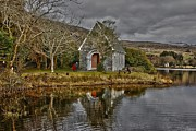 Gougane Barra Church Photo Metal Prints - Gougane Barra Metal Print by Joe Cashin