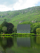 Gougane Barra Church Photo Metal Prints - Gougane Barra Metal Print by Teresa Moran