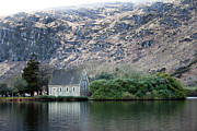 Gougane Barra Church Photo Metal Prints - Gougane Barra Metal Print by Thomas Glover