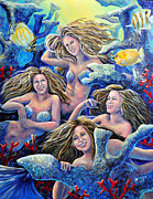 Gail Butler Art - Goulden Maids by Gail Butler