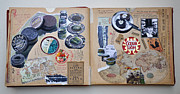 Cookbook Mixed Media - Gourmet a la turko by Nekoda  Singer