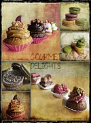 Oreos Prints - Gourmet Delights - collage Print by Barbara Orenya