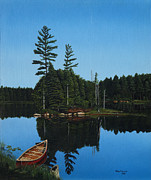 Ontaio Prints - Govan Lake Print by Ron Plaizier