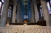 Haring Framed Prints - Grace Cathedral Framed Print by David Bearden