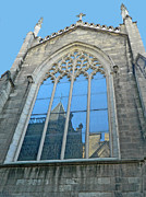 Manhattan Digital Art Originals - Grace Episcopal Church NYC by Emmy Marie Vickers
