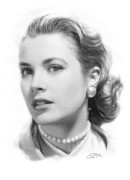 Stefan Kuhn - Grace Kelly Pencil